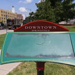 Sales tax receipts for the Downtown Springfield Community Improvement District hit a new high in the 2014-2015 fiscal year, which ended June 30.