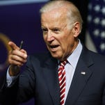 In this July 21 photo, Vice President Joe Biden speaks during a roundtable discussion at the Advanced Manufacturing Center at Community College of Denver.