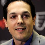 Danny Briere is retired from the league and working with the Flyers' front office.