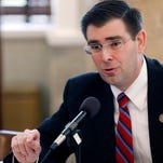 House Judiciary Committee B Chairman Andy Gipson, R-Braxton, is shown in this Feb. 26, 2014, file photo.