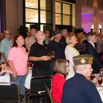 About 350 people attended the Vietnam Veteran Reception & Luncheon on Saturday at Lake Terrace Convention Center.