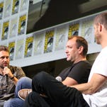 Chris Hardwick hosted the South Park 20th anniversary panel with Trey Parker and Matt Stone. The 20th season returns in September.