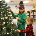 Library celebrates season with crafts