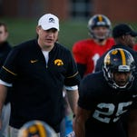 Spring game formations to offer flashes of Ferentz's new offense