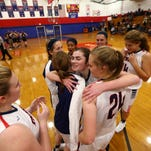 PHOTOS: Lenape's Grace Connery scores 1000th point in season opener