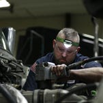 They fix big trucks and solve puzzles. In-demand diesel techs can earn more than $100K