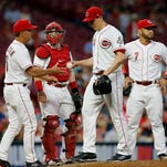 Update: Bailey's back with the Cincinnati Reds, will resume his rehab Saturday for Triple-A Louisville