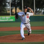 Brevard County starting pitcher Jed Bradley was named the Florida State League pitcher of the week on Monday.