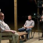 "From left: Gene Jones, AJ Bowen and Joe Swanberg in ""The Sacrament."""