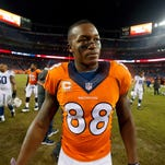 Denver Broncos wide receiver Demaryius Thomas