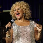 """Singer Darlene Love performs at the """"Right To Rock Benefit"""" at Cipriani Wall Street in New York. Love will sing """"Christmas (Baby Please Come Home)"""" for the 21st and final time on Letterman's annual holiday show. He's retiring from the """"The Late Show with David Letterman"""" next May."""