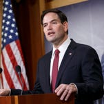 Sen. Marco Rubio, R-Fla., recently joined Sens. Ted Cruz of Texas and Rand Paul of Kentucky for an audience with the conservative billionaire Koch brothers.