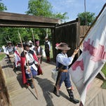 Experience colorful pageantry and blackpowder musket and cannon fire at Mission San Luis' fort, Castillo de San Luis on Saturday.