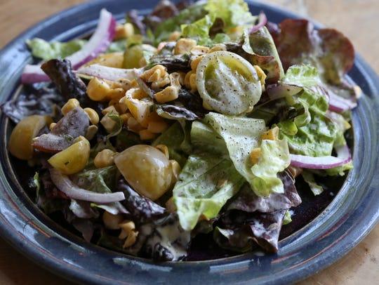 The bibb salad served at Wiltshire on Market. June