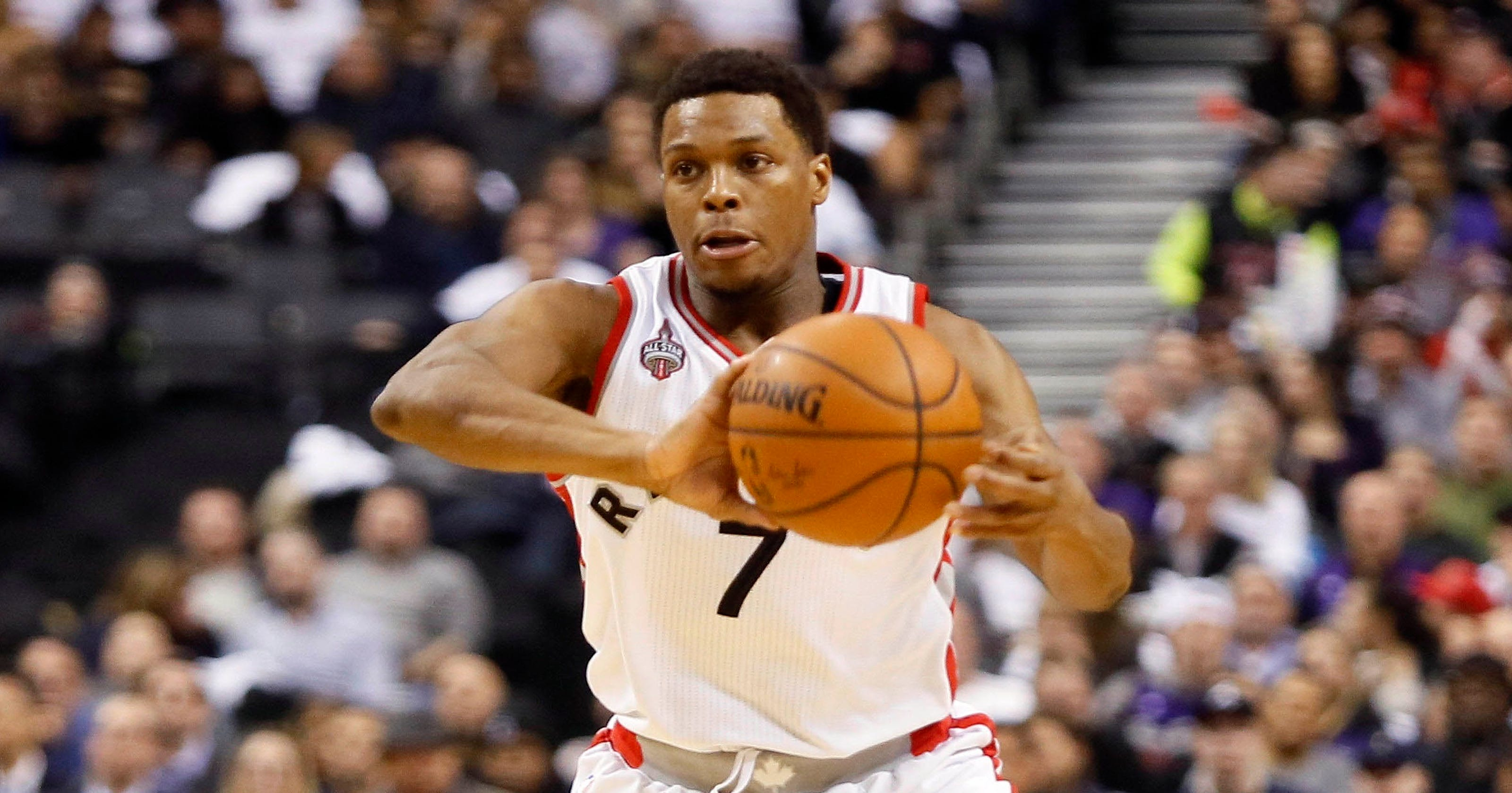 37da99e1b Lowry plants kiss as Raptors win seventh straight