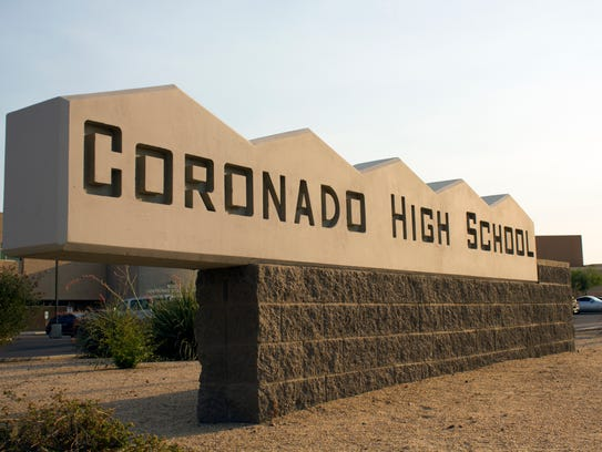 Coronado High School had graduation rates around 73