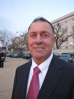 Rep. Richard Hanna, R-Barneveld, shown in 2010, is retiring from Congress at the end of his term. He is the first GOP member of the House or Senate to publicly support Democrat Hillary Clinton for president.