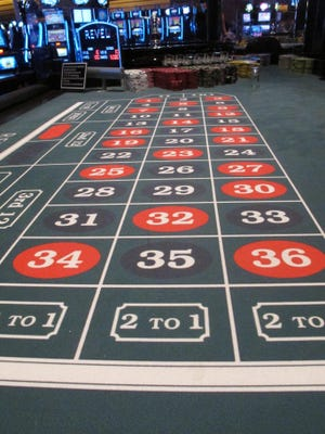 Associated Press fileIf North Jersey voters get their way, Atlantic City could lose its monopoly on gambling in the state. This May 21, 2012 photo shows a roulette table at the former Revel casino in Atlantic City, N.J. On Thursday Dec. 17, 2015, the New Jersey Legislature plans to consider changes Gov. Chris Christie requested to a financial assistance package for Atlantic City and its struggling casino industry. Revel was one of four Atlantic City casinos to go out of business in 2014. (AP Photo/Wayne Parry)