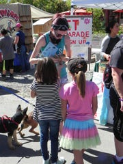 Pet Parade participants enjoy Sunday at Dayton Valley Days.