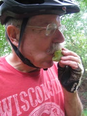 Paw paws are a great trailside snack.