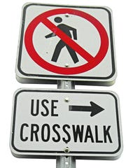 Most modern road signs fall into three categories: