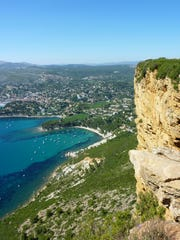 Famous cap close to Cassis city in south of France,