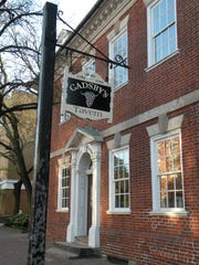 Gadsby's Tavern in Alexandria, Virginia, hosted many