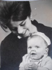 Mary Elaine Costa is pictured with her son, Jimmy, in this undated photo.