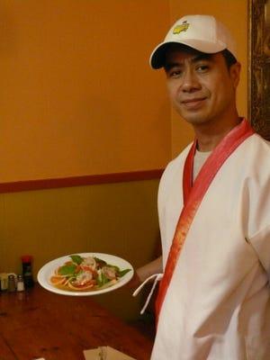 Kitchai Maikhot, aka Vut, is the new chef at Jao Thai Kitchen.