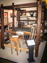 """The restored loom now is part of the Swannanoa Valley Museum's permanent """"Pathways from the Past"""" exhibition."""