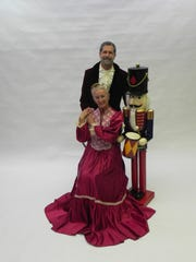 "Maxine Chapman, founder of the Vineland Regional Dance Company,  joined the holiday performance of ""Nutcracker'' several years ago. She played Mrs. Judge Stahlbaum with dancer Jeff Riddle."