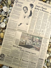 Capt. Bill Smith's story, by Bill Sargent, was featured on the front page of the TODAY Sports Section on June 30, 1979. Smith of Islamorada in the Florida Keys was credited with being the first to catch a bonefish on regulation fly tackle in 1939.