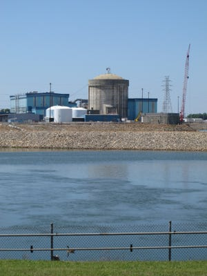 The working nuclear reactor is seen at V.C. Summer Nuclear Station in Jenkinsville, S.C. on Monday, April 9, 2012.