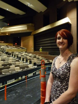 Amanda Pichler is the new manager for Valley's Performing Art Center. On the job since September, she is a Valley graduate with a master's degree in education and a specialty in lighting design.