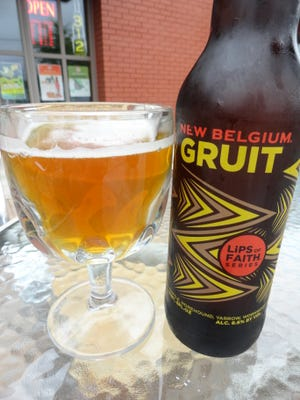 New Belgium Lips of Faith Series Gruit.