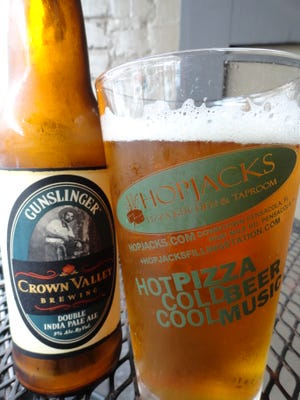 Crown Valley Brewing Gunslinger Double India Pale Ale.