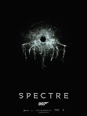 "The first teaser poster for the 24th James Bond film ""Spectre"" is an artistic take on the old SPECTRE logo from past 007 movies."