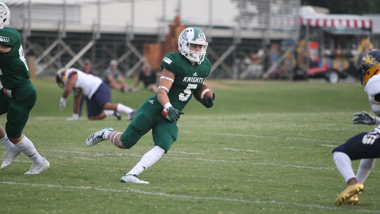 Shasta College lost its home opener against Merced College 21-7 Saturday.
