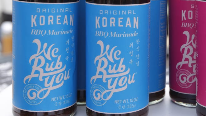 """""""We Rub You"""" a Korean style cooking sauce company owned by Ann Chung and her sister Janet Chung."""