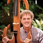 Craig Hultgren will play his electronic cello during a free concert on Sunday at Pensacola State College.