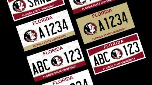 FSU's new license plates commemorates the National Championship title of 2013.