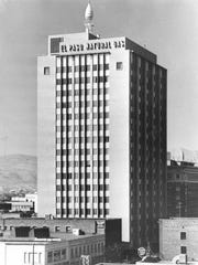 Historic photo of Blue Flame Building in Downtown El