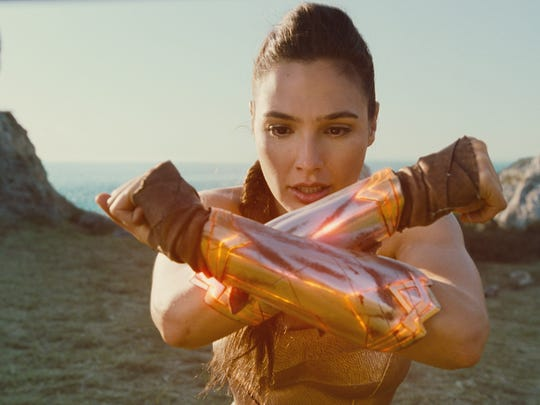 """Caption: GAL GADOT as Diana in the action adventure """"WONDER WOMAN,"""" a Warner Bros. Pictures release."""