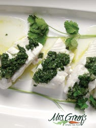 Halibut is readily available, sustainable option with mild flavor and firm flesh – and this recipe is quick and easy.