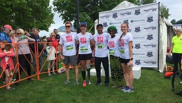 Team Meb inspires at Vermont City Marathon