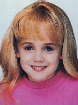 This is an undated file photo of 6-year-old JonBonet Ramsey, who was found dead in the basement of her family's home in Boulder, Colo., on Thursday, Dec. 26, 1996.