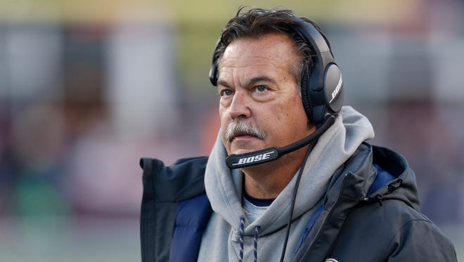 Rams coach Jeff Fisher wasn't concerned about potentially being tied for the all-time loss record in the NFL.