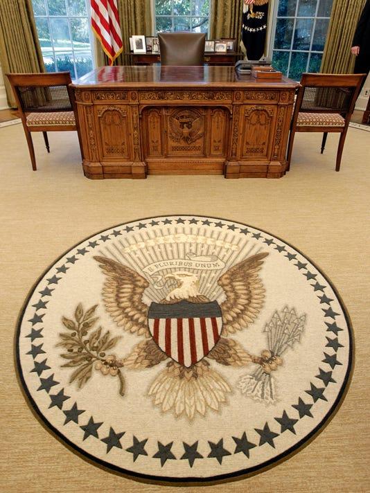 AP OVAL OFFICE RUG A USA DC