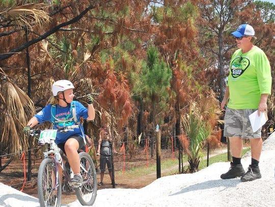 Take a Kid Mountain Biking Day introduces boys and