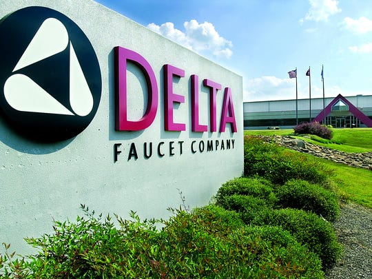 Outside view of Delta Faucet in Jackson.